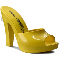 Melissa Papucs MELISSA - Melissa Inflatable Mule + Jere 31777 Neon Yellow 01661