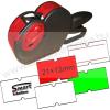 Printex SMART PH8 egysoros árazógép / 8 karakter / 21×12mm Motex címke