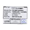 3-1826107-9 vezetéknélküli router akkumulátor 1250 mAh