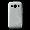 Samsung Galaxy Ace 4 Szilikon Tok S-Line Stlye TPU Fehér