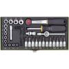 PROXXON 23080 Racsnis Kulcskészlet 36 részes 4-13mm ( 1/4
