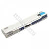 Acer UM09A75 11.1V 4400mAh 48Wh fehér netbook akkumulátor
