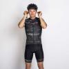 575 Kerékpáros kantáros nadrág - Screen / Screen - XL