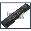 HP ProBook 6565b 4400 mAh 6 cella fekete notebook/laptop akku/akkumulátor utángyártott