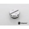 Bitspower Silver Diamond záródugó G1/4 - hatszög - ezüst