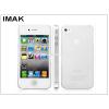 IMAK Apple iPhone 4/4S hátlap - IMAK 0.7 mm Color Slim - transparent
