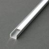 SLIM alumínium LED profil LED szalag beépítéséhez MATT fedővel