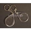 Csepp alakú kulcstartó