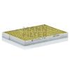 MANN FILTER FP2620 FreciousPlus Polifenolos aktívszenes pollenszűrő Renault Koleos