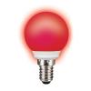 Sylvania TOLEDO BALL IP44 RED E14 SL piros LED izzó