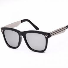 Uniszex napszemüveg ezüst lencsével
