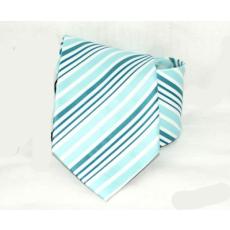 Goldenland nyakkendõ - Menta-fehér csíkos