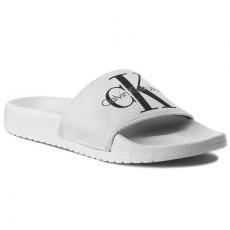 Calvin Klein Jeans Papucs CALVIN KLEIN JEANS - Chantal Heavy RE9587 White