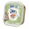Happy Cat Duo pástétomos falatkák - Baromfi és bárány 100 g