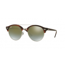 Ray-Ban RB4346 62519J SHINY RED HAVANA GREEN FLASH GRADIENT napszemüveg