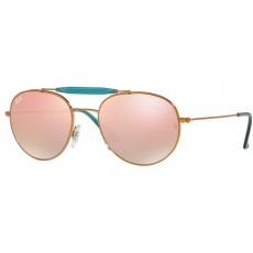 Ray-Ban RB3540 198/7Y SHINY BRONZE COPPER FLASH GRADIENT napszemüveg
