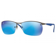 Ray-Ban RB3550 029/55 MATTE GUNMETAL BLUE FLASH napszemüveg