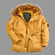 Alpha Industries Explorer - mustár színű kabát