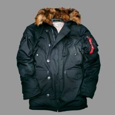 Alpha Industries Explorer - fekete kabát
