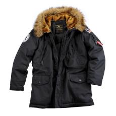 Alpha Industries Polar Jacket - fekete