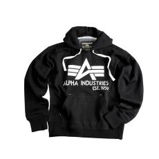 Alpha Industries Big A Classic Hoody - fekete