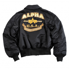 Alpha Industries CWU Custom - fekete