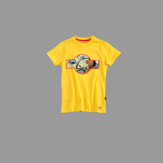 Alpha Industries Kids Basic T Print 10 - sárga
