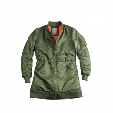 Alpha Industries MA-1 Coat Női - sage gren
