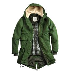 Alpha Industries Fishtail TT 2 in 1 - dark green