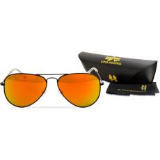 Alpha Industries Top Gun M napszemüveg - fekete/arany