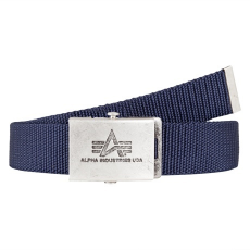 Alpha Industries Heavy Duty Belt 4 cm - replika kék