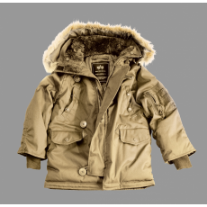 Alpha Industries Kids Explorer - khaki