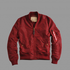 Alpha Industries MA 1 TT - burgundy