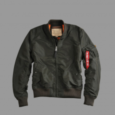 Alpha Industries MA 1 TT - replika szürke