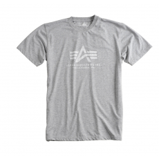 Alpha Industries Inside Out Logo T - szürke