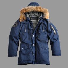 Alpha Industries Polar Jacket Down RF - replica kék