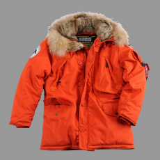 Alpha Industries Polar Jacket RF - piros