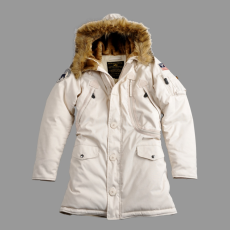 Alpha Industries Polar Jacket Női - off white