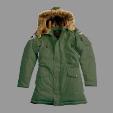 Alpha Industries Polar Jacket Női - dark green