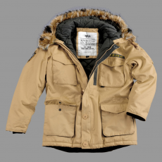 Alpha Industries Mountain Parka - sand