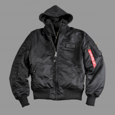 Alpha Industries MA-1 D-Tec SE - fekete