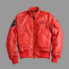Alpha Industries Engine - spicy red dzseki