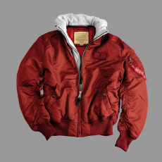 Alpha Industries MA-1 D-Tec - burgundy
