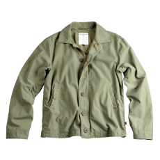 Alpha Industries Authentic Utility Jkt - olive kabát