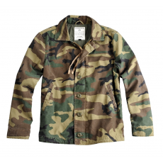 Alpha Industries Authentic Utility Jkt - woodl. camo kabát