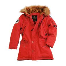 Alpha Industries Polar Jacket Női - piros