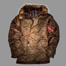 Alpha Industries N3B - barna