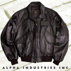Alpha Industries CWU Leather bőrdzseki