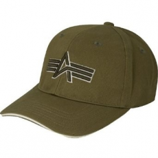 Alpha Industries Big A Cap - olive