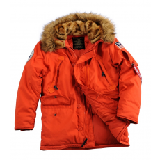 Alpha Industries Polar Jacket - piros